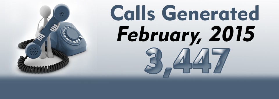 Slider 4 – Calls Generated